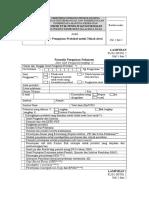 Form Pengajuan Protokol