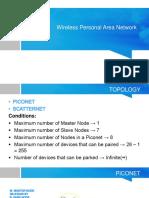 Wireless Personal Area Network