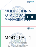 Production &Tqm