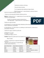 sustancias puras y mezclas