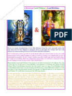 The Difference Between Lord Vishnu and Lord Krishna