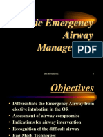 Basic Emergency Airway Management (ECCE-II 2013)