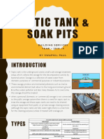 Septic Tank and Soak Pit
