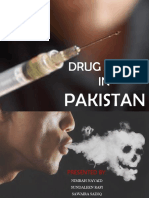 drug abuse in Pakistan