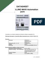 100-101-10-Maxi Automation Pure Datasheet 20-06-2017