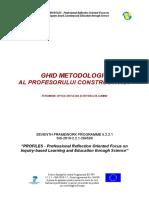 Fenomene Optice - Reflexia Si Refractia Luminii - Ghidul Metodic Al Profesorului Constructivist
