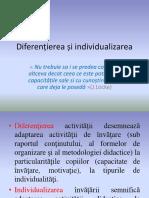 Diferențierea și individualizarea în educație