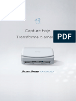 Fujitsu IX1500 Scanner profissional