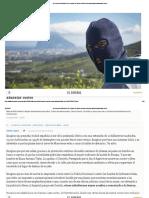 Sudakas hijos de la gran puta montan convierten La Línea en Medellín