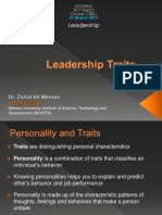 LS Leadership Traits Lecture 2