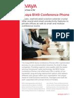 AVAYA_B149 Telefone Audioconferencia