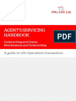 Agent's Servicing Handbook v1.1 - New Business and Underwriting