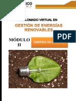 GESTION DE ENERGIAS RENOVABLES