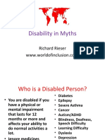 Disability in Myths