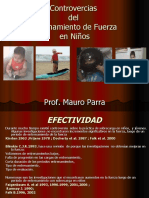 CONTROVERSIAS DEL ENTRENAMIENTO DE FUERZA EN NIÑOS