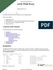 MikroTik RouterOS WEB Proxy