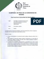 2019 Oef Local Madrid Exam