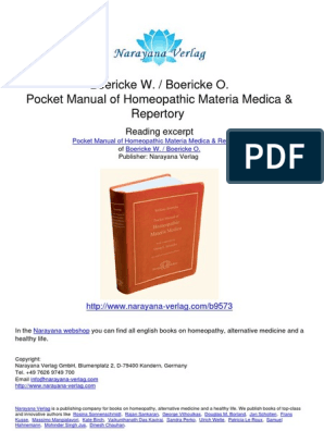 materia medica | Homeopathy | Plants