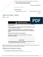 AJUSTE DE CADENA 336D