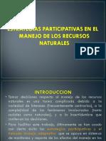 estrategias participativas recursos naturales