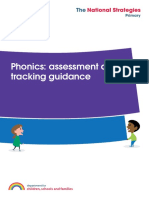 Phonics Assessment and tracking guidance