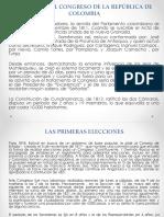 Historia Del Congreso de La República de Colombia