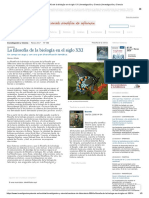 La Filosofía de La Biología en El Siglo XXI _ Investigación y Ciencia _ Investigación y Ciencia