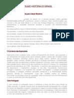 História do Brasil - Pré-Vestibular - Resumo