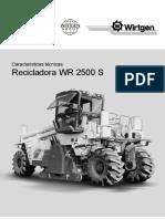 Wirtegen Wr2500 Dim Caract Tec