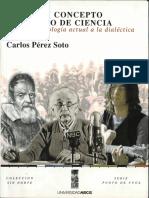 Pérez, Sobre un concepto historico de ciencia. De la epistemologia actual a la dialectica..PDF