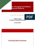 Changing Food Pallete