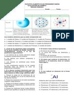 evaluacion atomo