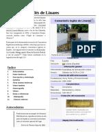 Cementerio Inglés Linares