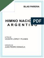 BLAS PARERA - Himno Nacional Argentino.pdf
