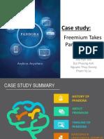 Freemium Takes Pandora Public