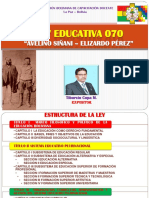 Ley Educativa 070 Figx.