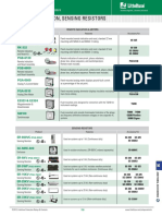 Littelfuse Sensing Resistors Datasheet-1317368