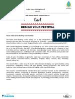 Igbc Green Design Competition 18 Igbc18 Brief