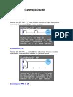 Ejemplos de Programación Ladder