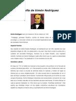 Biografia de Simon Rodríguez