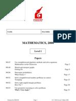 116_Y11_EOY_Questions_2006