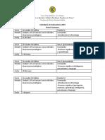 FormatoCalendario de Evaluaciones 2019