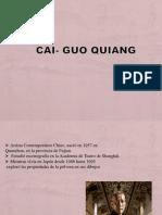cai guo quiang -  su historia y trabajo