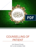 Counselling of Patients