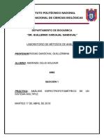 ANÁLISIS ESPECTROFOTOMÉTRICO DE UN SISTEMA MÚLTIPLE completo.docx