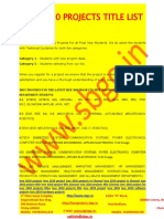 Ieee 2010 Project List, Ieee 2010 Projects Titles, Ieee 2010 Project Chennai