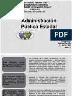 Organización Del Ejecutivo Estadal