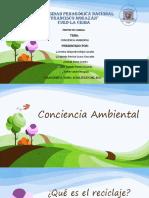 Concienciaambiental Ecologia Reciclaje PLAN de CHARLA