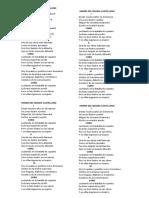 Himno Del Idioma Castellano
