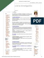 Metodología de La Investigación_ Variables